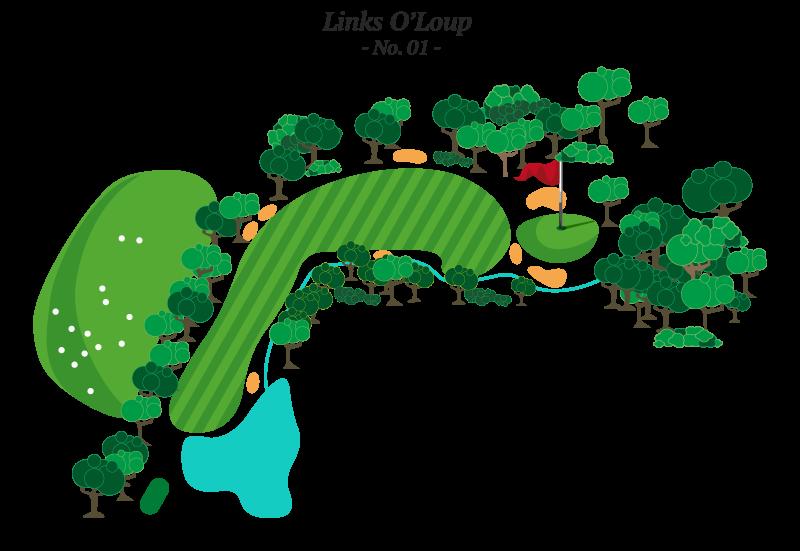 Trou No 1 - Golf Louiseville