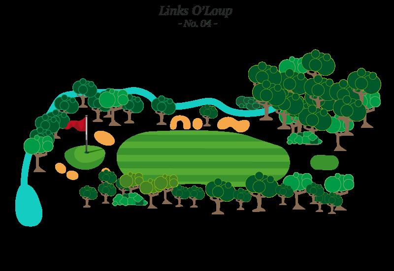 Trou No 4 - Golf Louiseville