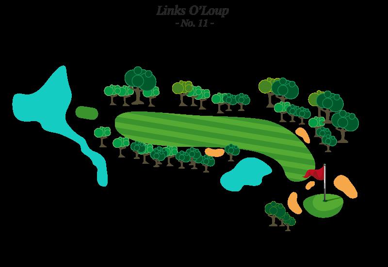 Trou No 11 - Golf Louiseville